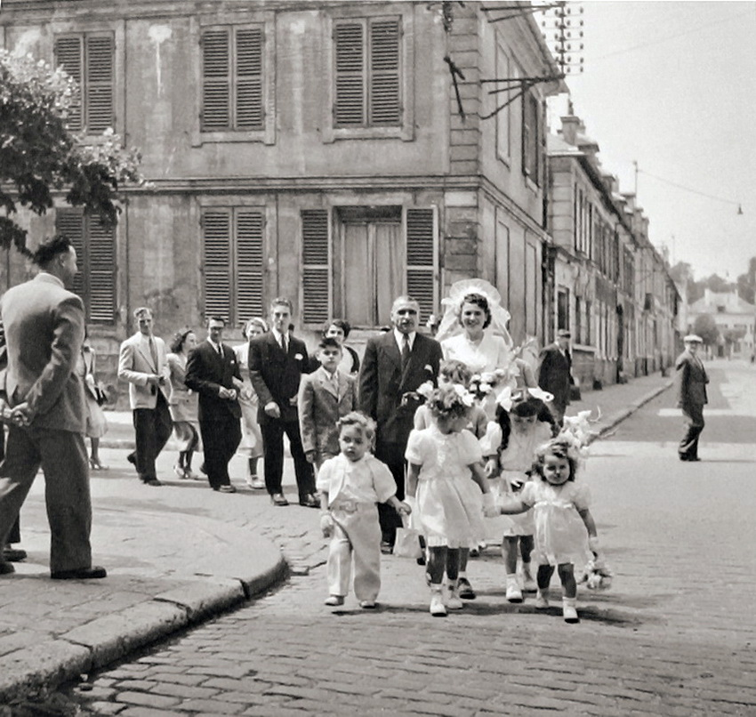 Wedding paris 1950 Robert Doisneau (1)