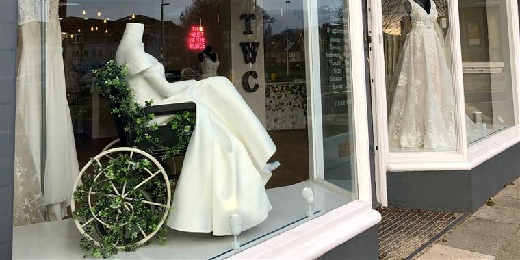 Vestido Noiva Cadeirante